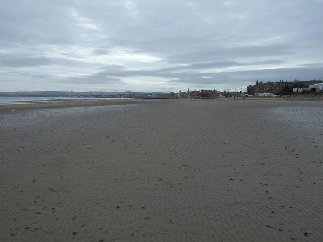 Beach towards Portobello