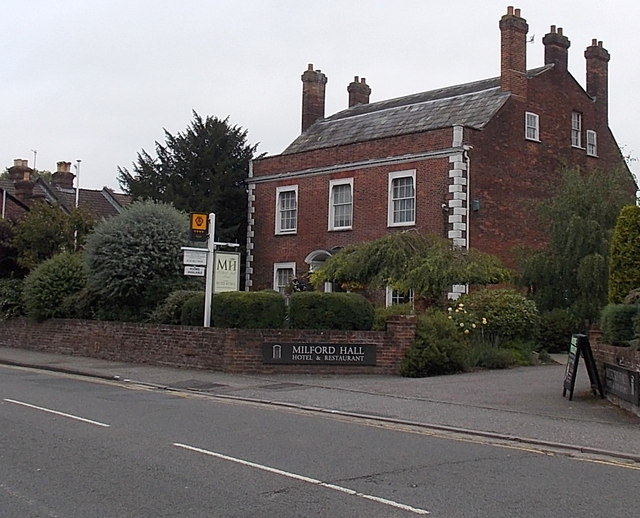 Milford Hall, Salisbury