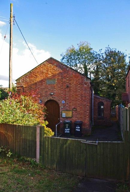 Cleobury Mortimer Scouts & Guides HQ (former Water Works) (1), Cleobury Mortimer, Shrops