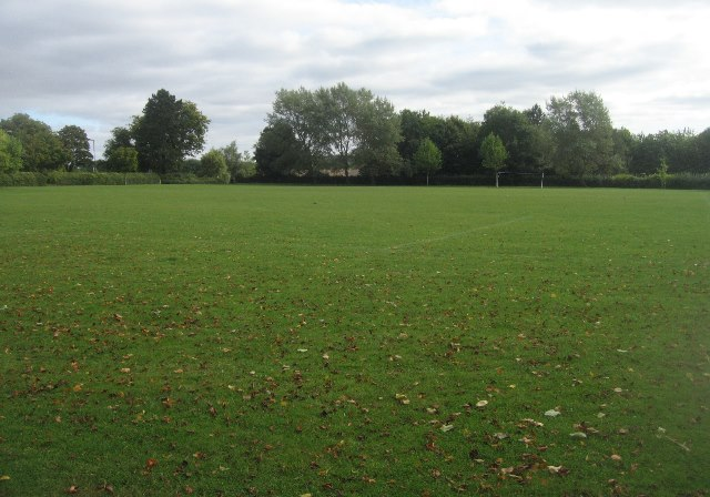 Memorial Park playing fields