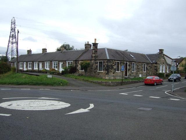 Houses. Monktonhall