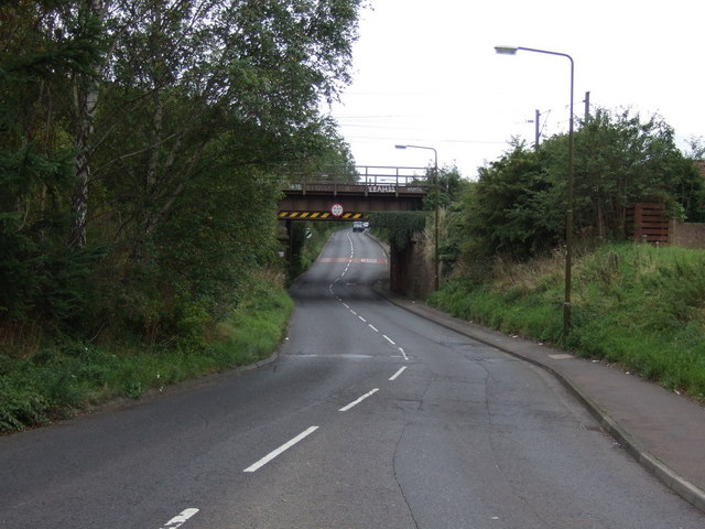 Railway bridge over the B6415