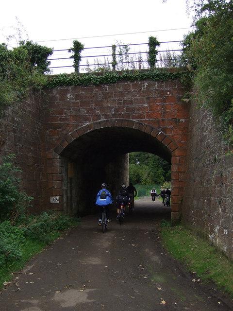 Railway bridge over Ferguson Drive, Monktonhall