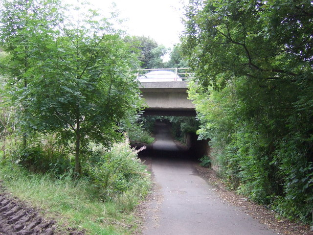 A1 bridge over National Cycle Route 1