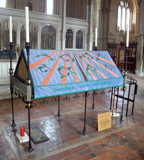 St Swithun's Shrine, Winchester Cathedral