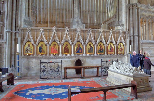 Holy Hole, Winchester Cathedral