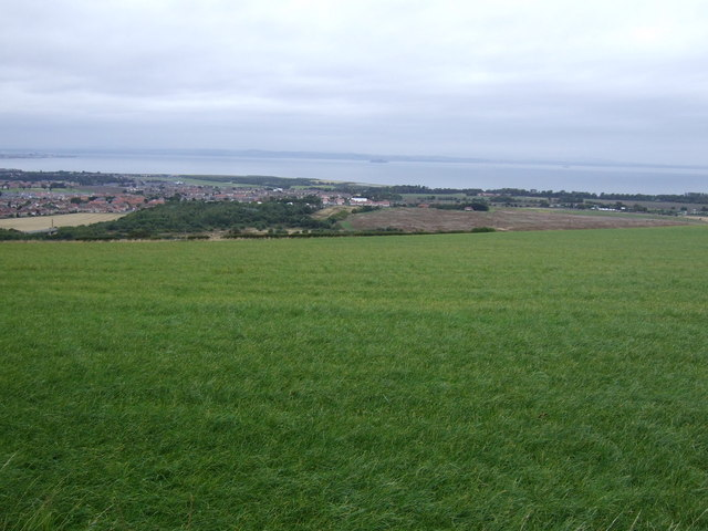 Farmland near Falside Castle