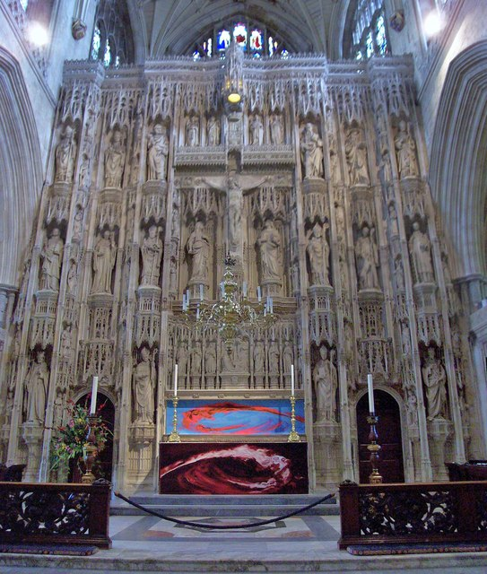Winchester Cathedral, High Altar & Screen