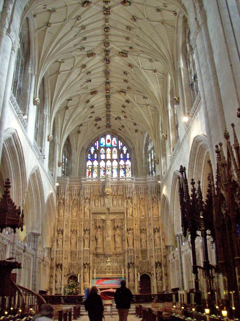 Winchester Cathedral, Presbytery