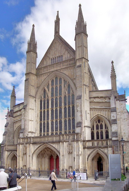 Winchester Cathedral, West Fascia