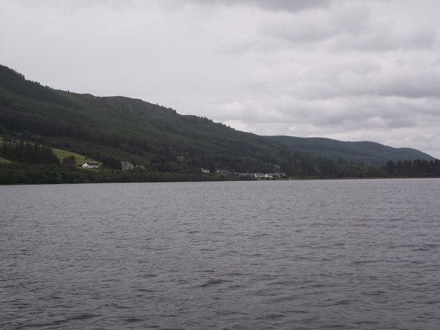 Lochend from Loch Ness