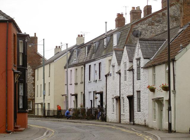 Along St Ann Street