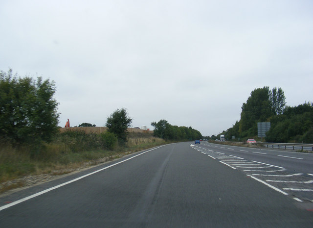 Entering the A14