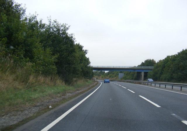 Approaching All Saints Road Bridge