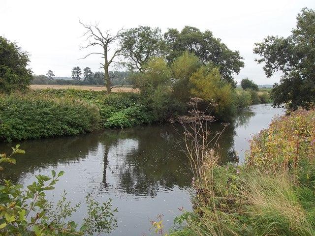 The River Dove near Ellastone