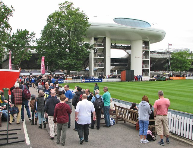 Lord's: The Nursery End before the Final