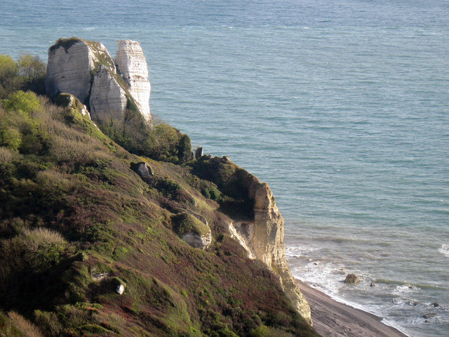 Hooken Cliffs from the South West Coastal Path