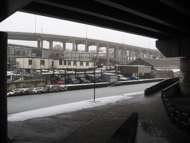 Aston under snow 10-Birmingham