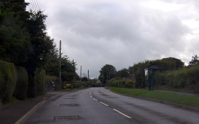 A3079 at Halwill Junction