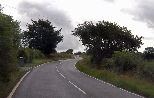 A3079 towards Halwill Junction