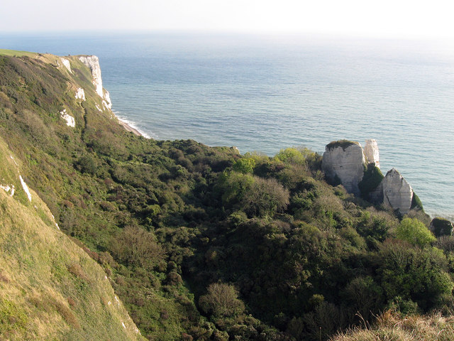 Hooken Cliffs from The South West Coastal,path