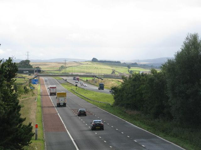 M6 near Shap