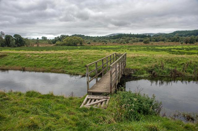 Footbridge over The Kirkby Pool