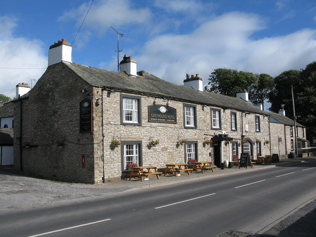 The Greyhound Hotel, Shap