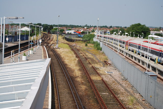 Sidings, Hove Station