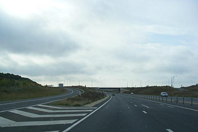 A428 Hardwick Bypass, Hardwick