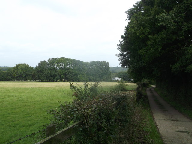 Access road to Hazelhurst Farm
