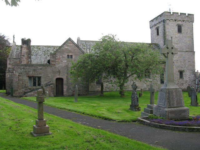 St. Michael's Church and War Memorial, Shap