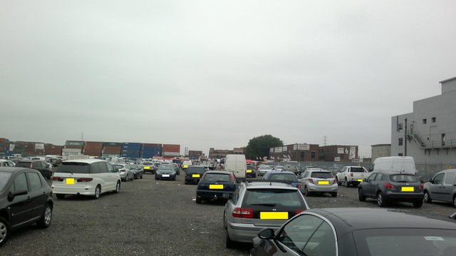 View of Bullmans Self Storage from the market car park #2