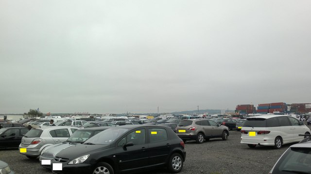 View of Plumstead and Woolwich from Dagenham Market's car park
