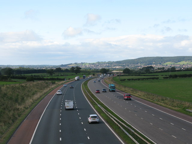 M6 south of Clifton