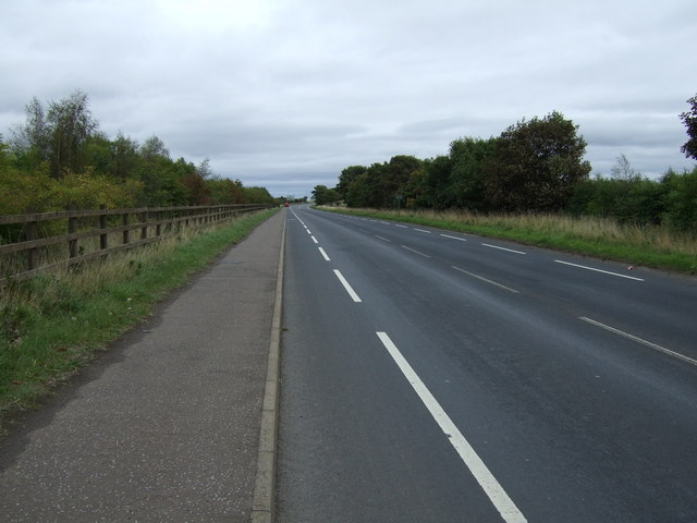 A199 heading east