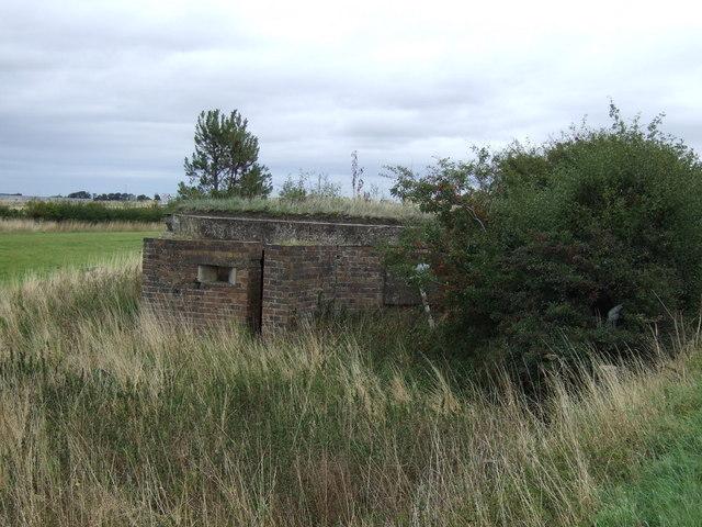 Pillbox beside the A199