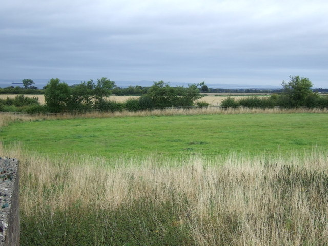 Farmland towards the A1