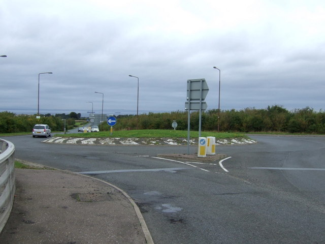 Roundabout on the B6363