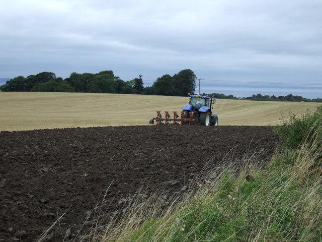 Ploughing, Southfield Farm