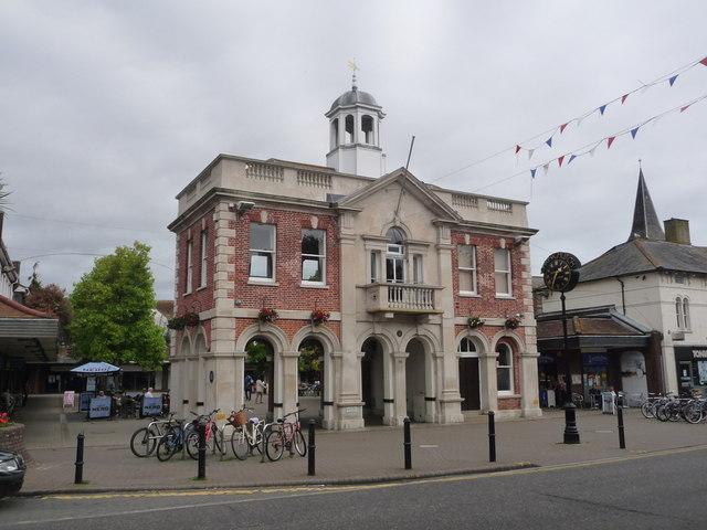 Christchurch: the Town Hall