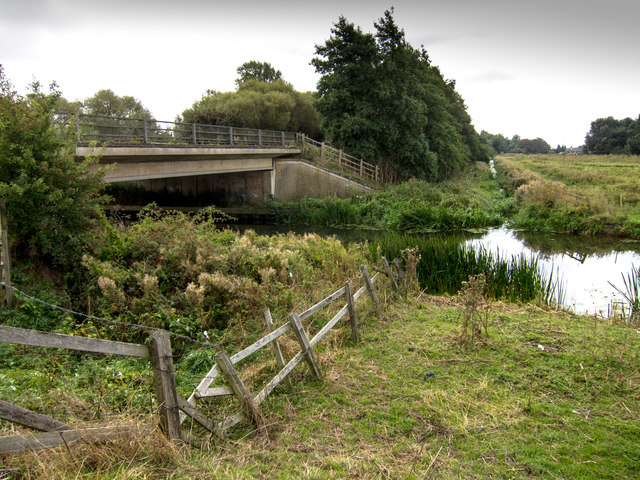 A10 crossing River Great Ouse