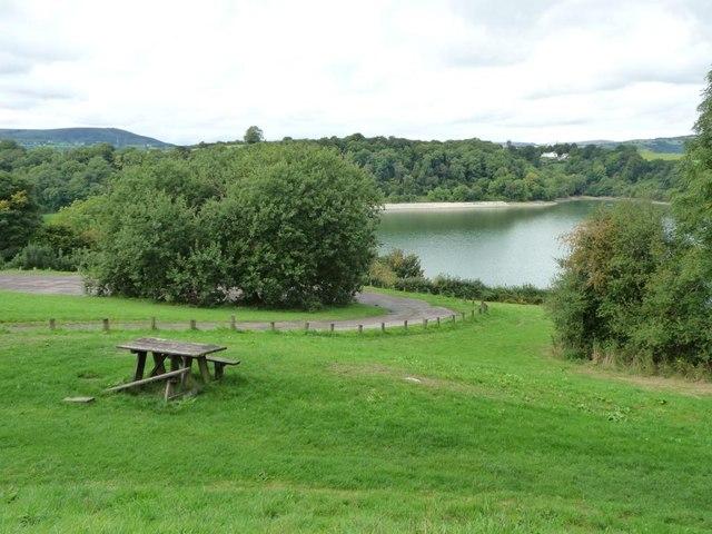 Llandegfedd Reservoir, southern end