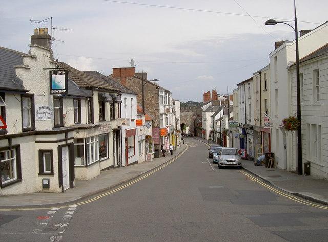 A look down Moor Street