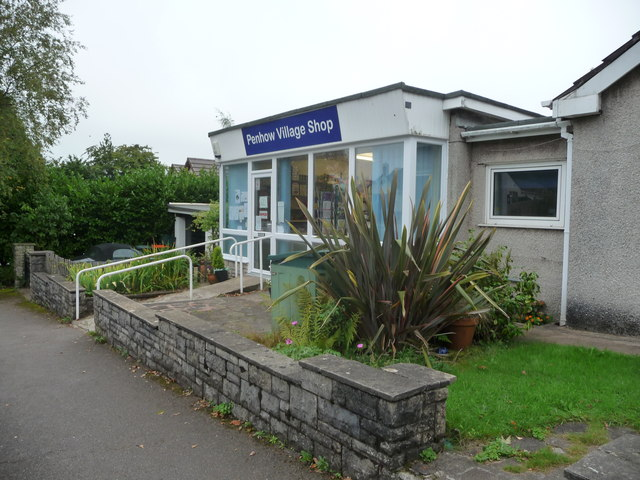 Penhow Village Shop, Parc Seymour