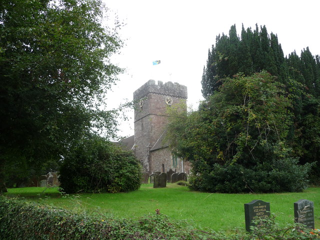 The church of St. Thomas a Becket at Shirenewton, Monmouthshire