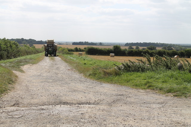 Tractor on Eastbeck Lane