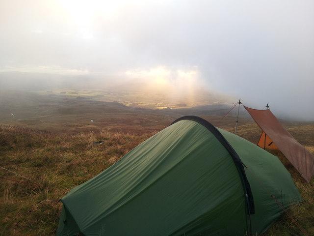 Wild Camp on Arenig Fawr