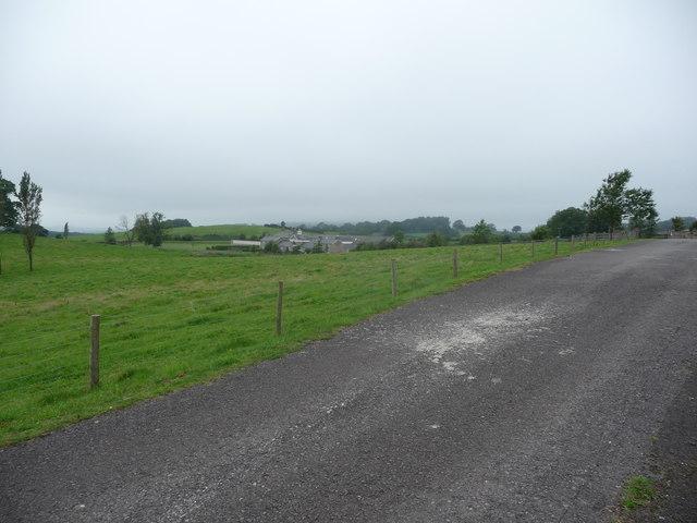 View to Home Farm Court near Shirenewton