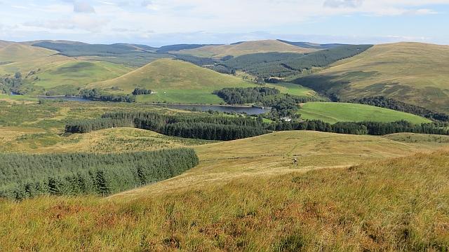 East ridge of Seamab Hill